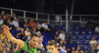 Jaka Lakovic, ante Carl English (Foto: Víctor Salgado)