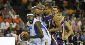 Primer partido en ACB de Jakim Donaldson (ACB Photo/David Arquimbau)