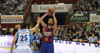 Navarro, histórico en la ACB (ACB Photo/Luis Garcia)