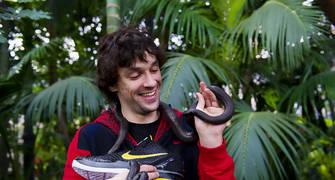 Sergio LLull, con la Mamba Negra