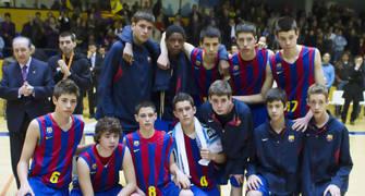 Regal Barça, subcampeón (Foto: Lafargue)