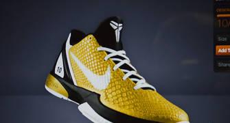 Las Nike Zoom Kobe VI personalizadas para el X Aniversario de Solobasket