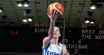 Laia Palau en el All Star de la Euroliga (Foto: FIBA Europe/Castoria)