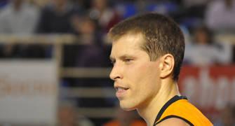 Davor Kus, durante el partido (foto: LCGIL)
