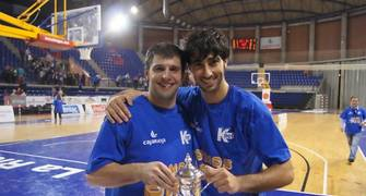Mathew Witt y Quique Suárez (Foto: Jonatan González)