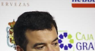 Javier De Grado en la rueda de prensa.<br> Foto: Lourdes Getino