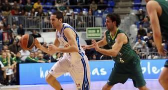 Sergi Vidal fue uno de los más destacados en la victoria del Lagun Aro en Málaga (Foto: ACB Photo)
