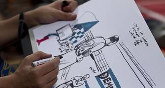 Dibujo del partido (Foto: Juan Carlos García Mate)