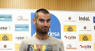 Presentación Edu Ruiz (Foto: CB Valladolid)