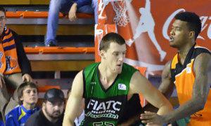 Kuzmic fue fundamental para el Joventut en la primera parte del partido (F.Martínez/ACBPhoto)