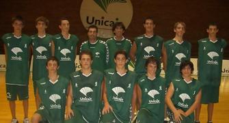 Plantilla cadete de Unicaja Málaga