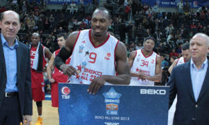 Joey Dorsey, MVP del All Star (Foto: TBL)