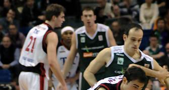 Arslan intenta escaparse de Marco <u>Foto: José María Benito</u>
