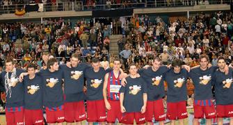 Los campeones en el podium <u>Foto: José María Benito</u>