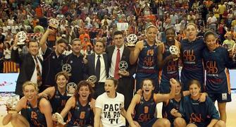 La foto de las campeonas