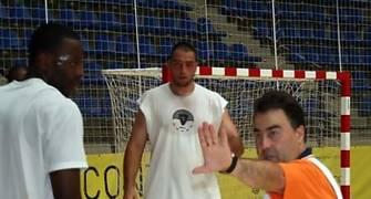 Gustavo Aranzana dirigió los entrenamientos