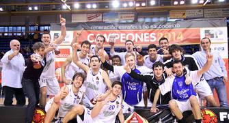 CB Prat Campeón de la Copa Adecco Plata 2014 (foto Rocío Benítez para FEB)