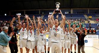 La Penya, tras 4 Campeonatos seguidos, no podrá reeditar el título (Foto Javi Lopez-FEB)