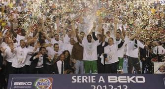 Montepaschi celebra su octavo título (Foto: Alive),