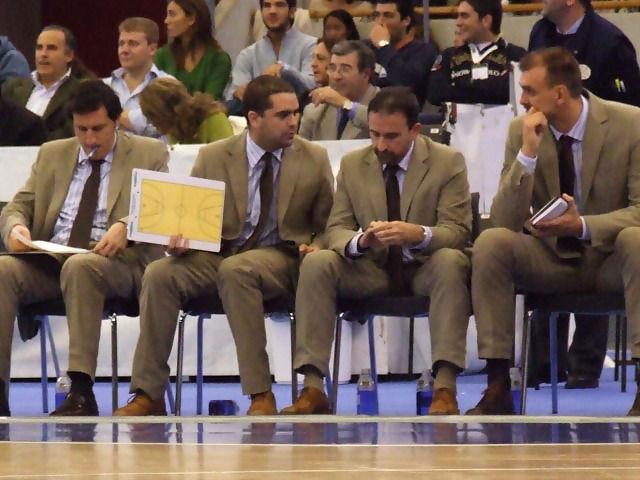 Joan Plaza y sus hombres (Foto: Fran Martínez)