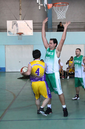 Partido presentación Nuevo Solobasket (foto basquetmaniàtic)
