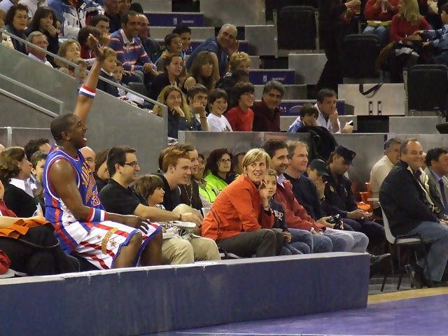 Gaffney, infiltrado entre el público (foto: FM)