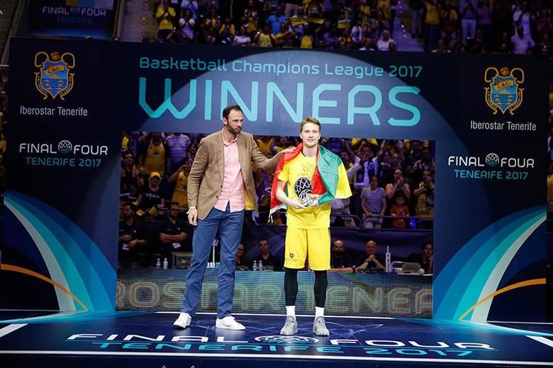 Marius Grigonis - MVP de la #FinalFourBCL (Foto: Carlos González)
