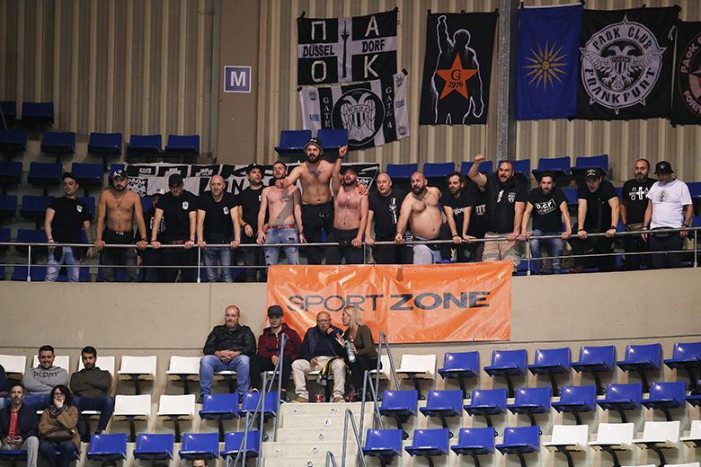 Aficionados del PAOK Salónica (Foto: Carlos González)