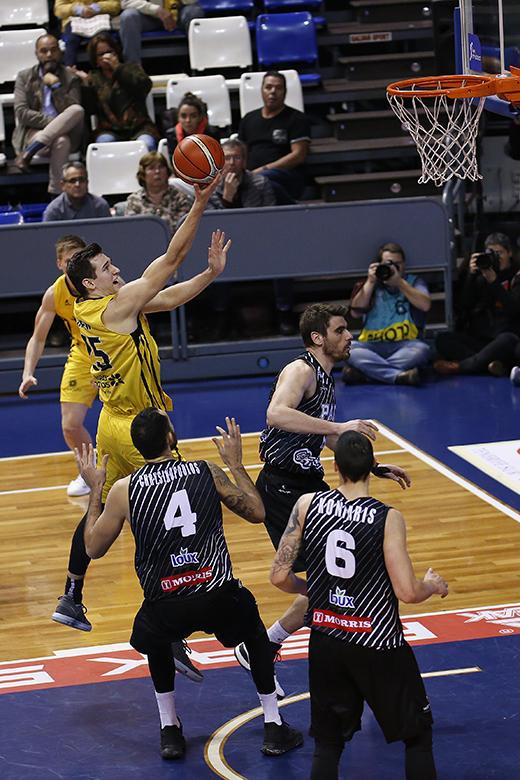 Rosco Allen - Linos Chrysikopoulos (Foto: Carlos González)
