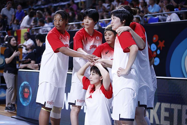 Jugadoras de Japón (Foto: Carlos González)