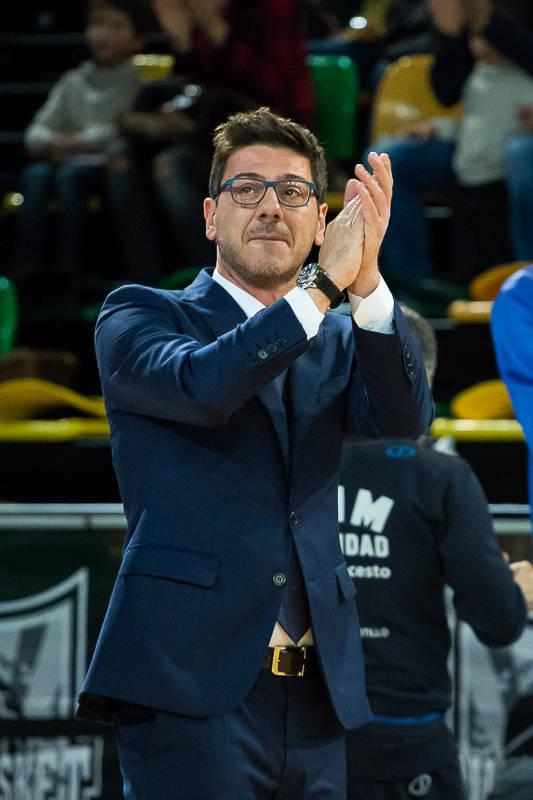 Katsikaris, emocionado en su regreso a Bilbao (Foto: Luis Fernando Boo).
