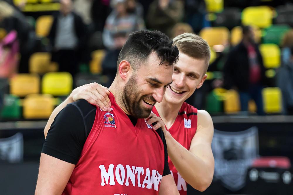 Popovic y Rupnik, contentos por la victoria (Foto: Luis Fernando Boo).