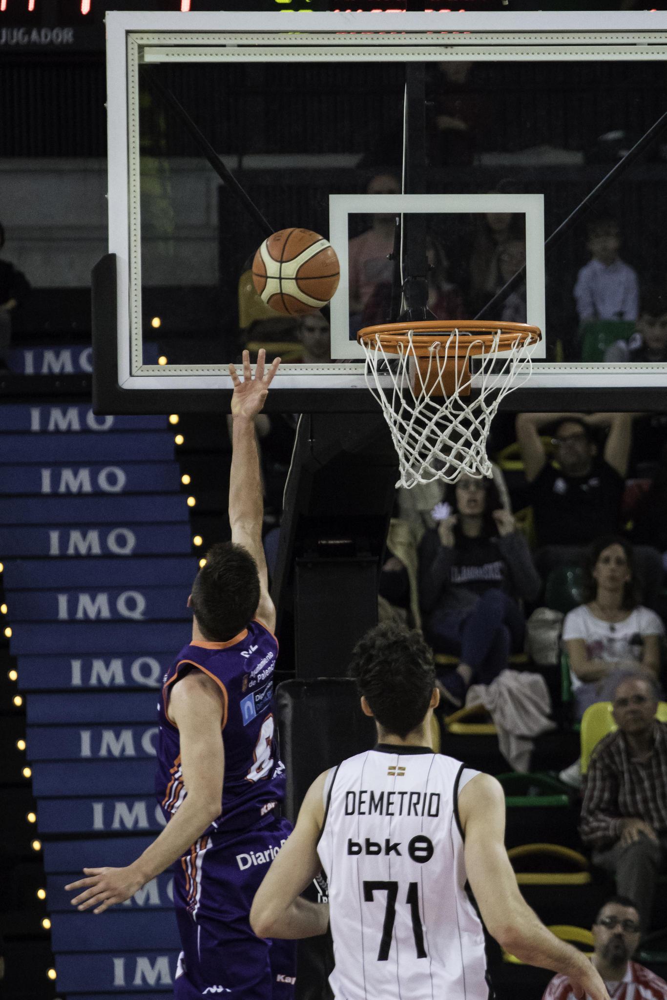 Sanz anota en contraataque  | Foto: Luis Fernando Boo.