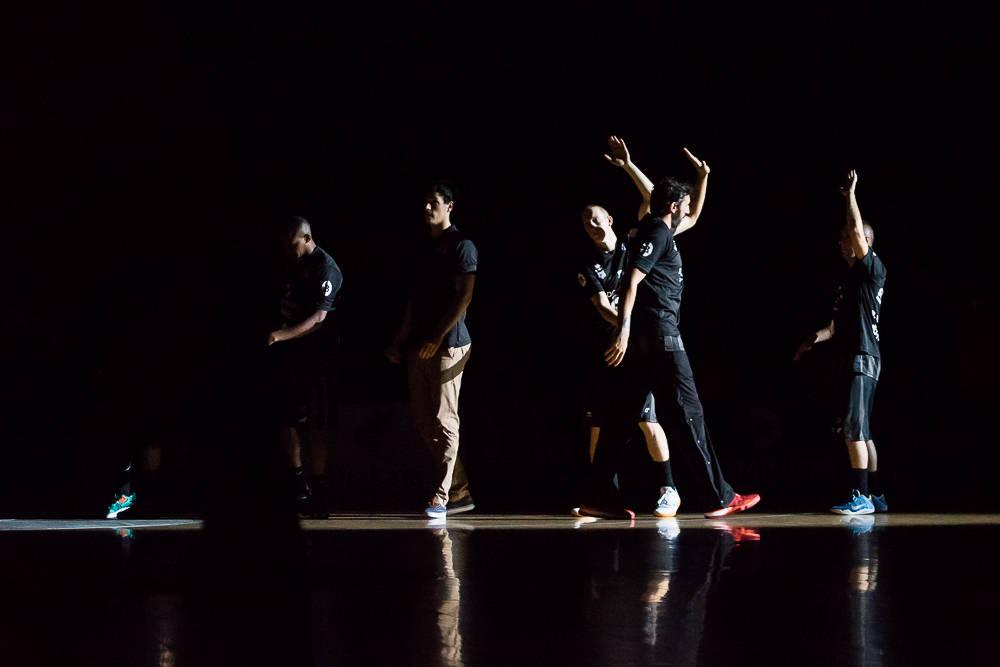 Presentación del Bilbao Basket (Foto: Luis Fernando Boo)
