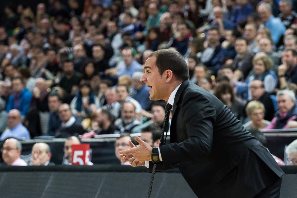 Durán pide intensidad a sus jugadores (Foto: Luis Fernando Boo).