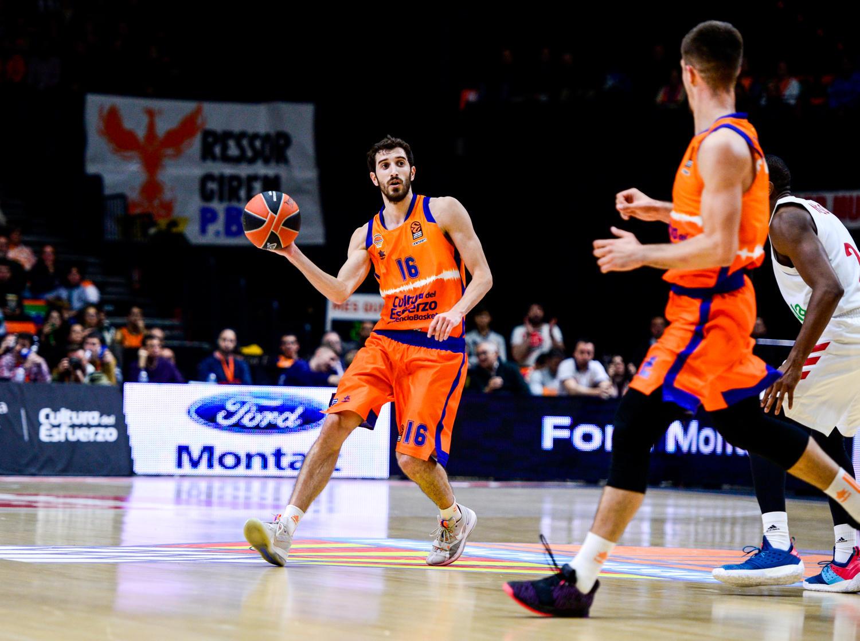 Vives, tomó las riendas del Valencia Basket. (JM Casares)