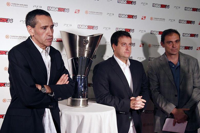 Sixto Serrano, Antoni Daimiel y Jorge Quiroga comentarán el NBA2k14. Foto: Rocío Benítez