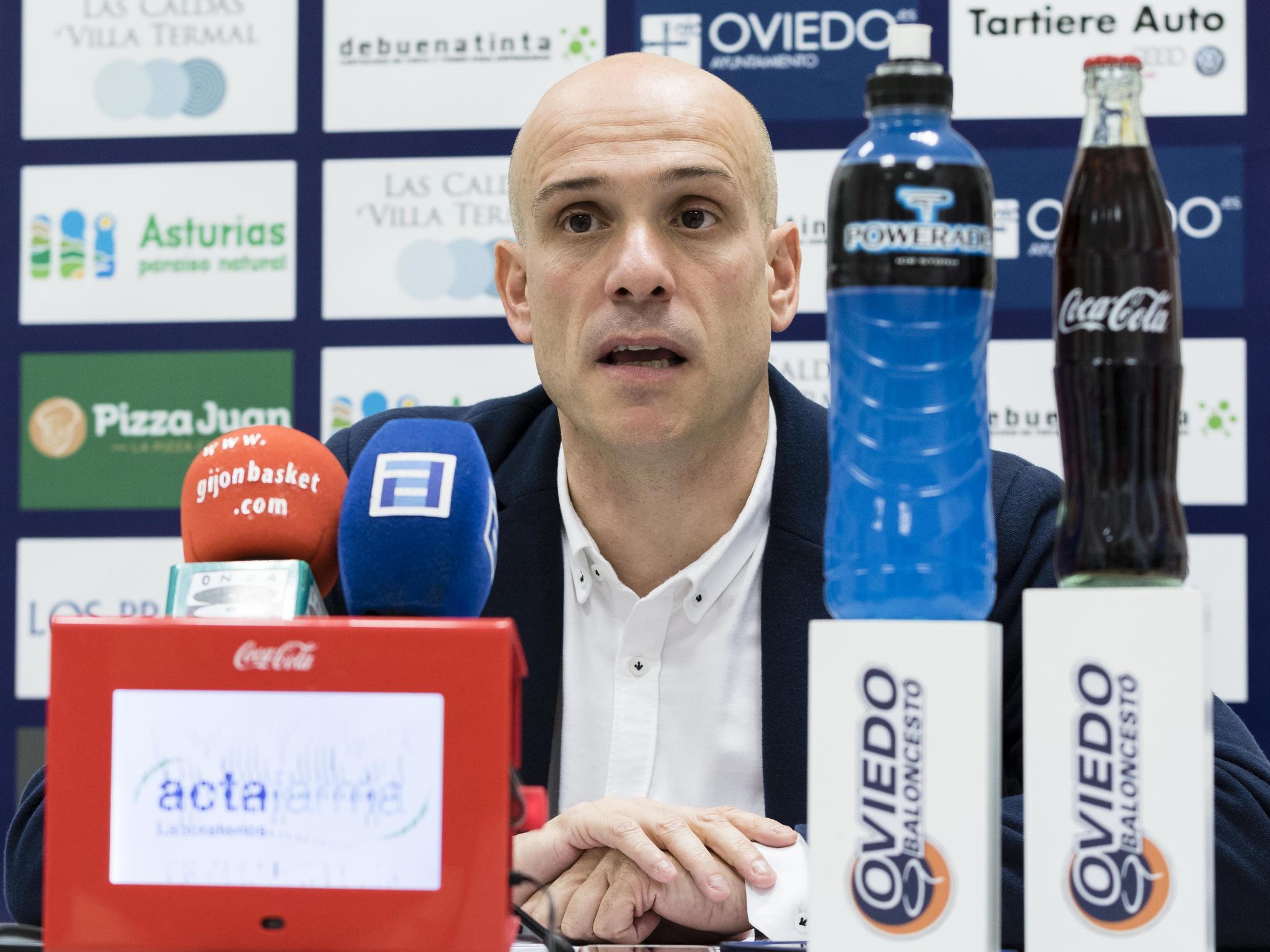 Carles Marco durante la rueda de prensa (Foto: Christian García)