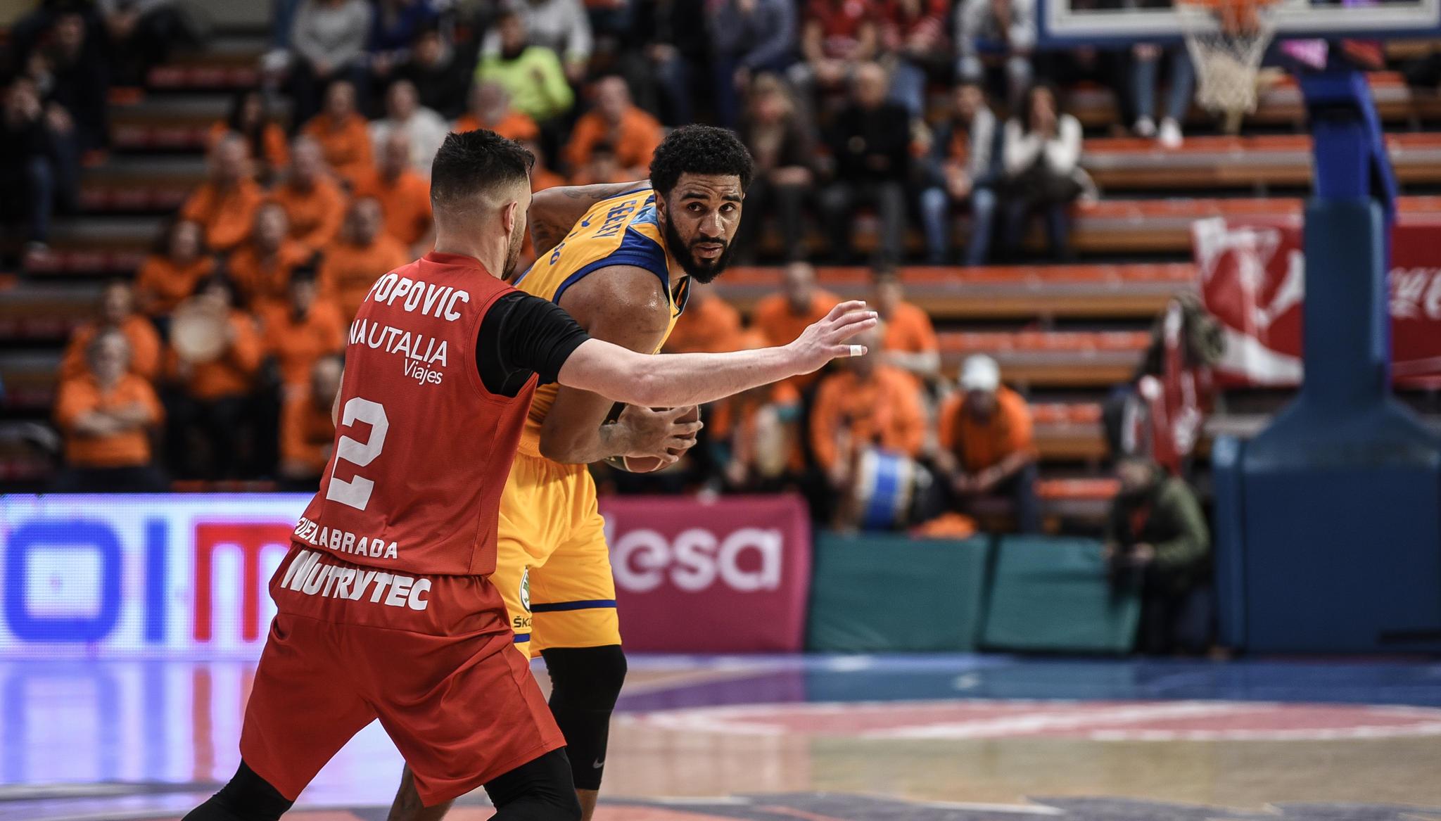 Seeley y Popovic (Foto: Rubén de la Fuente)