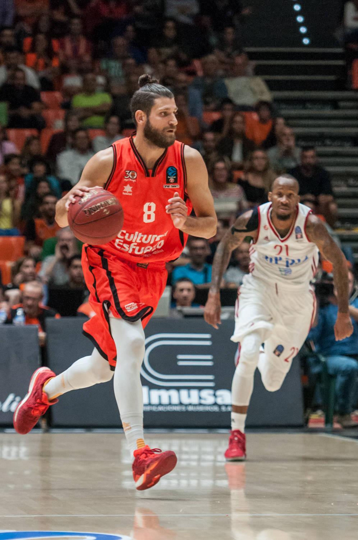 Diot, tomó las riendas del alocado final de Valencia Basket. (JM Casares)