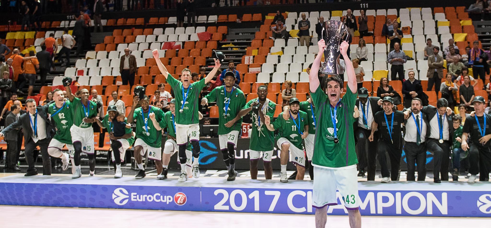 Unicaja! Campeón de la Eurocup 2017. JM Casares