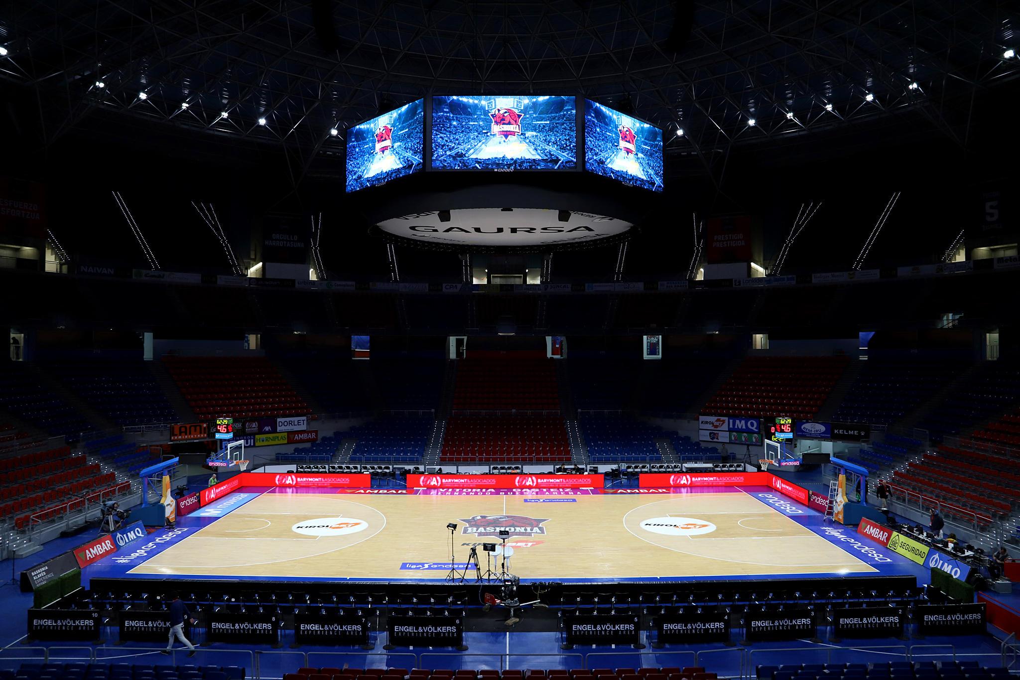 Fernando Buesa Arena. Foto: Ekaitz Otxoa
