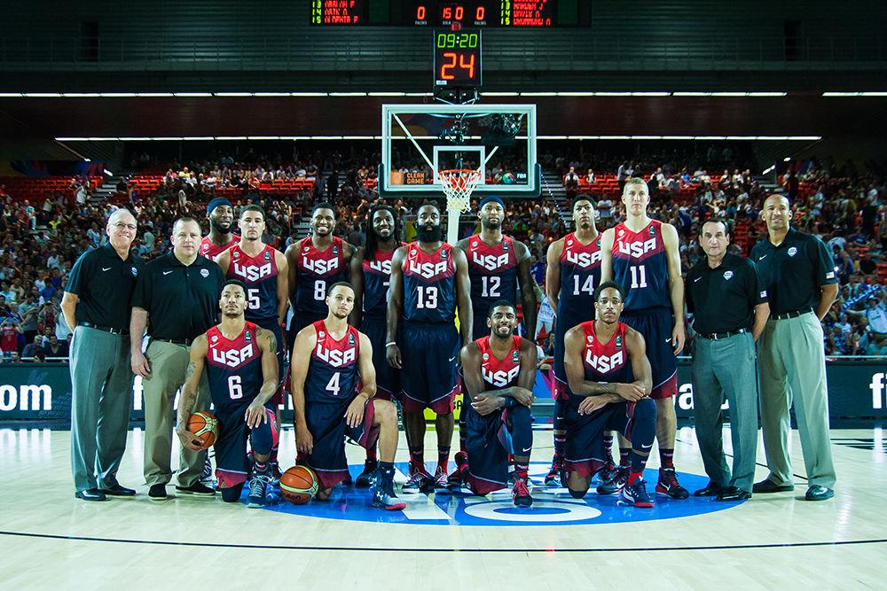Foto de grupo de la selección de Estados Unidos (Foto: Luis Fernando Boo).