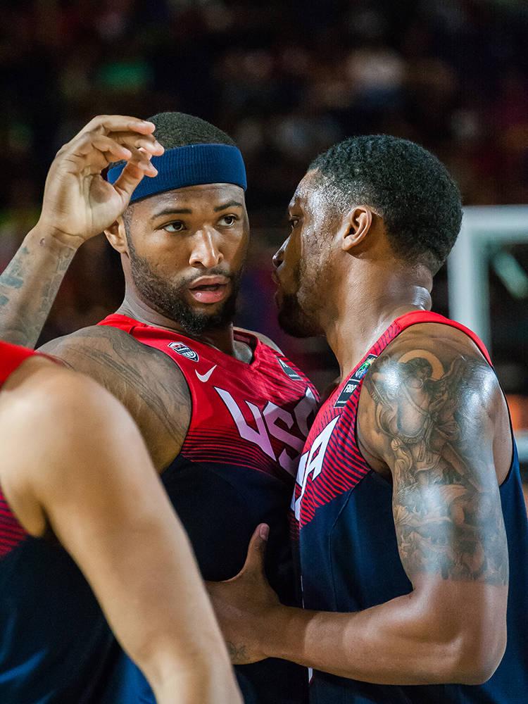 Drummond aconseja a Cousins (Foto: Luis Fernando Boo).