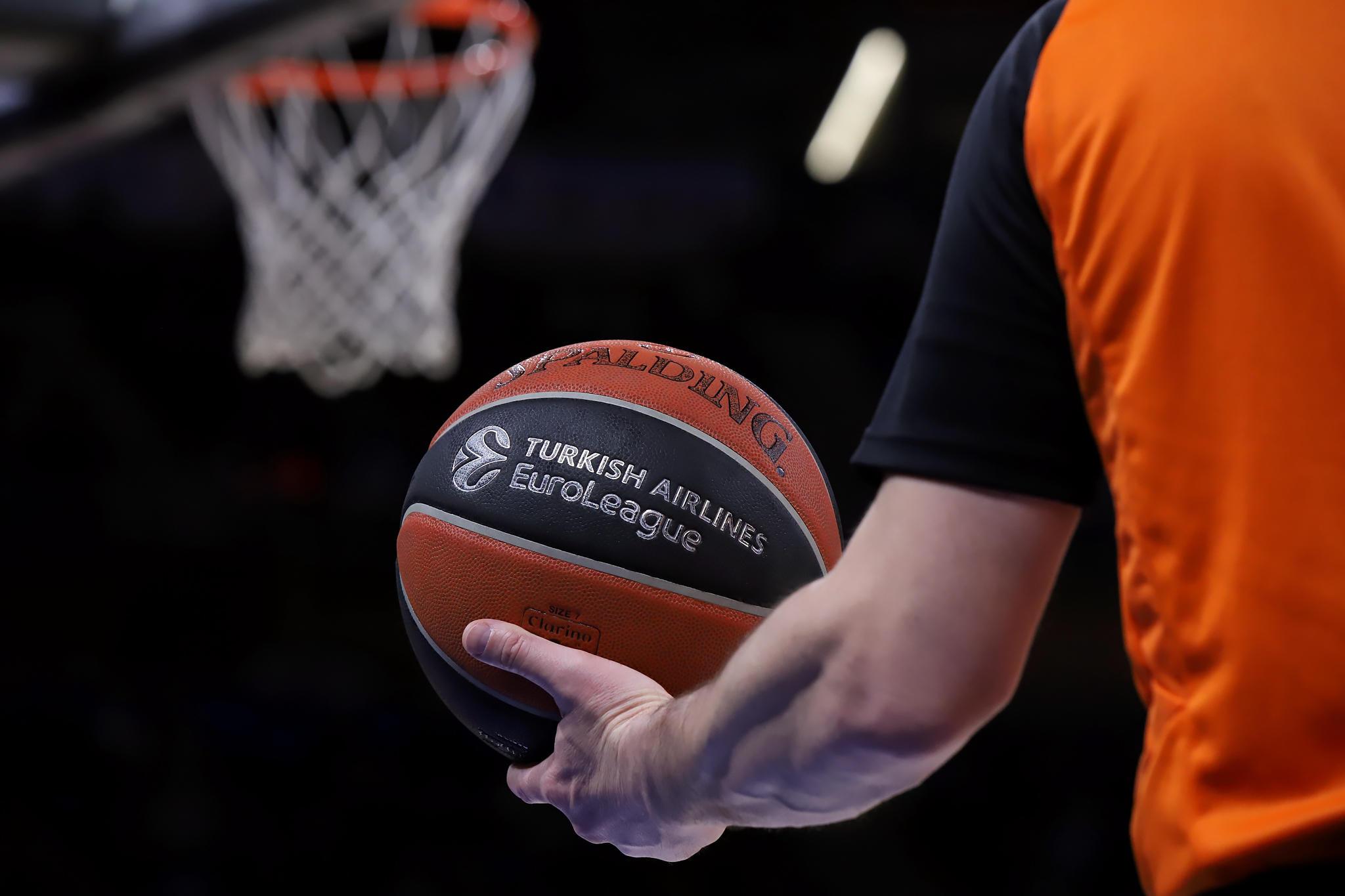 Balón Euroleague. Foto: Ekaitz Otxoa.
