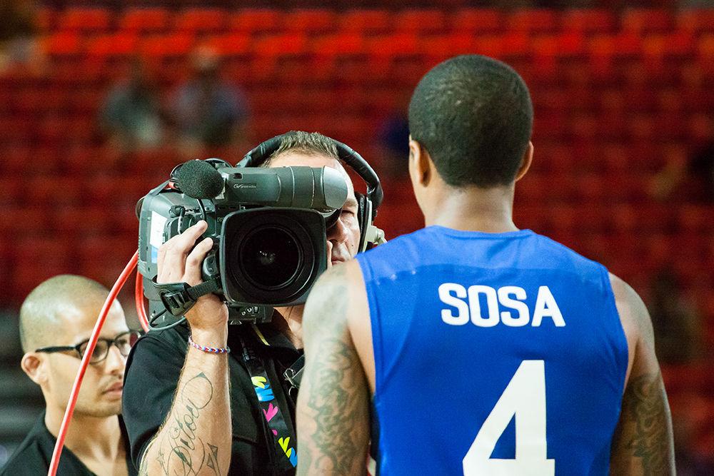 Momentos previos al partido (Foto: Luis Fernando Boo).