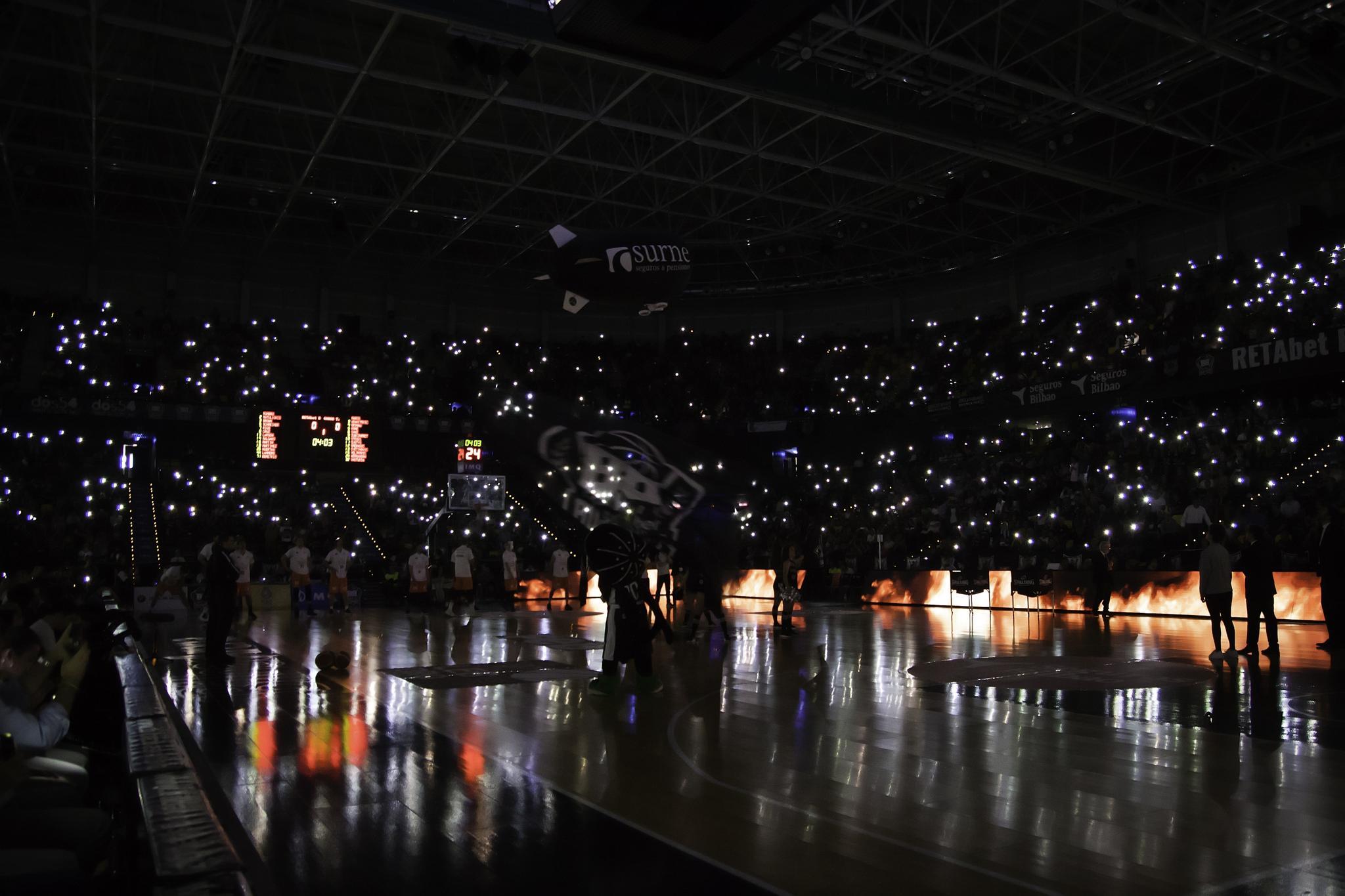 Espectacular presencia del Bilbao Arena | Foto: Luis Fernando Boo.