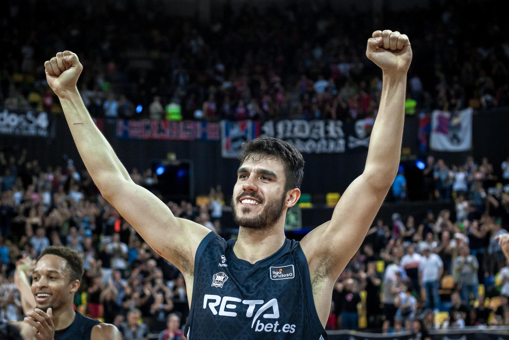 Sergio Rodriguez celebra la victoria (Foto: Luis Fernando Boo).