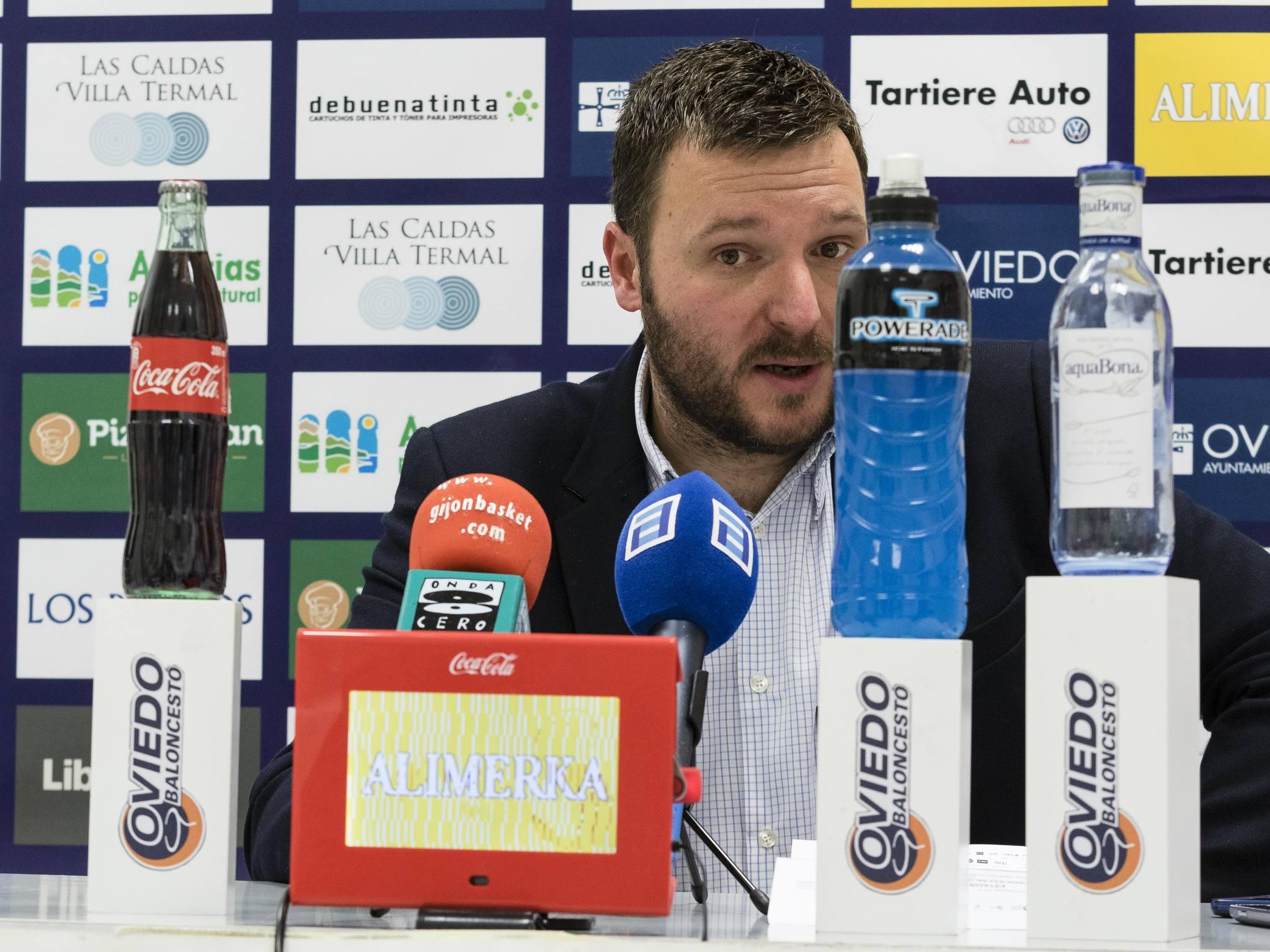 Antonio López en rueda de prensa (Foto: Christian García)