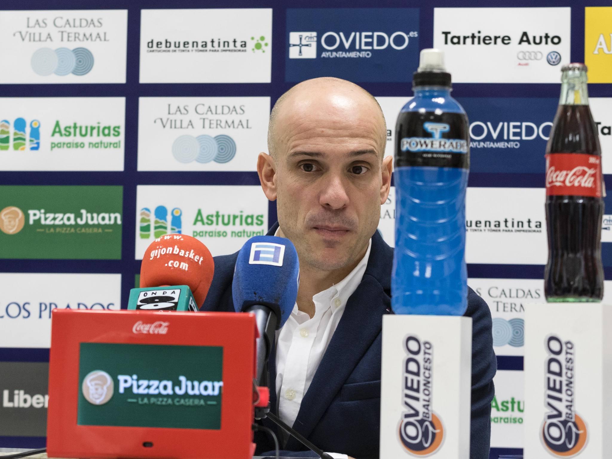 Carles Marco en rueda de prensa (Foto: Christian García)